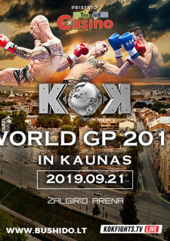 Bushido & KOK WORLD SERIES 2019 IN KAUNAS